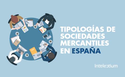 Tipologías sociedades mercantiles en España