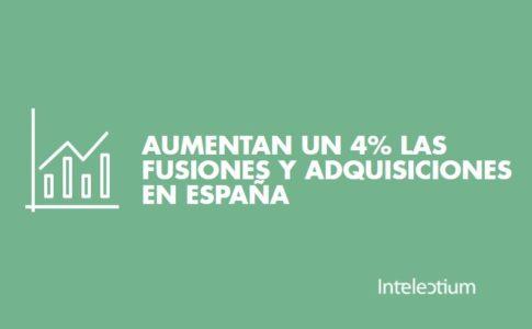 Aumentan las fusiones y adquisiciones en España