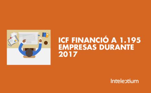 ICF, financiación bancaria para startups