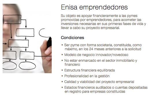 Ayudas públicas a emprendedores