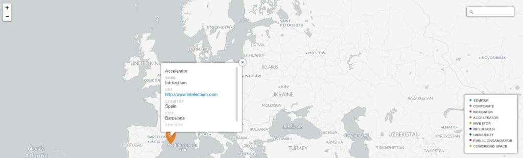 Intelectium en el mapa del emprendimiento europeo