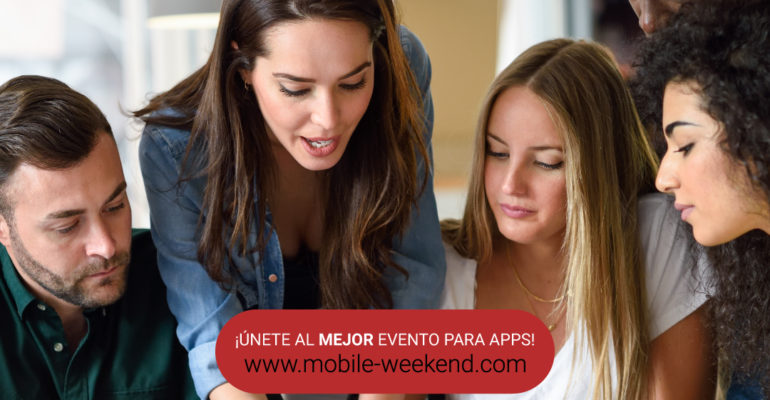 Mobile Weekend evento para genios emprendedores