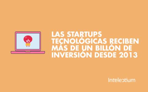 Las startups tecnológicas reciben más de un billón de inversión desde 2013