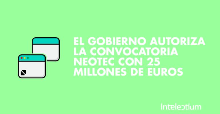 Neotec convocatoria para startups y pequeñas empresas, ayudas públicas