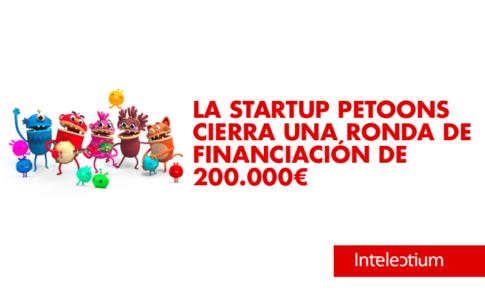 La startup petoons cierra ronda de inversión de 200.000 euros