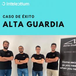 Caso de éxito Intelectium: Alta Guardia consigue un préstamo ENISA Jóvenes Emprendedores por valor de 67.000 €.